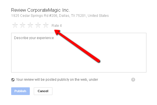 How to write a review for Google+